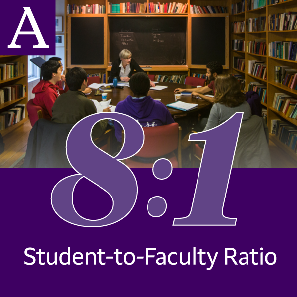 8-to-1 student-to-faculty ratio