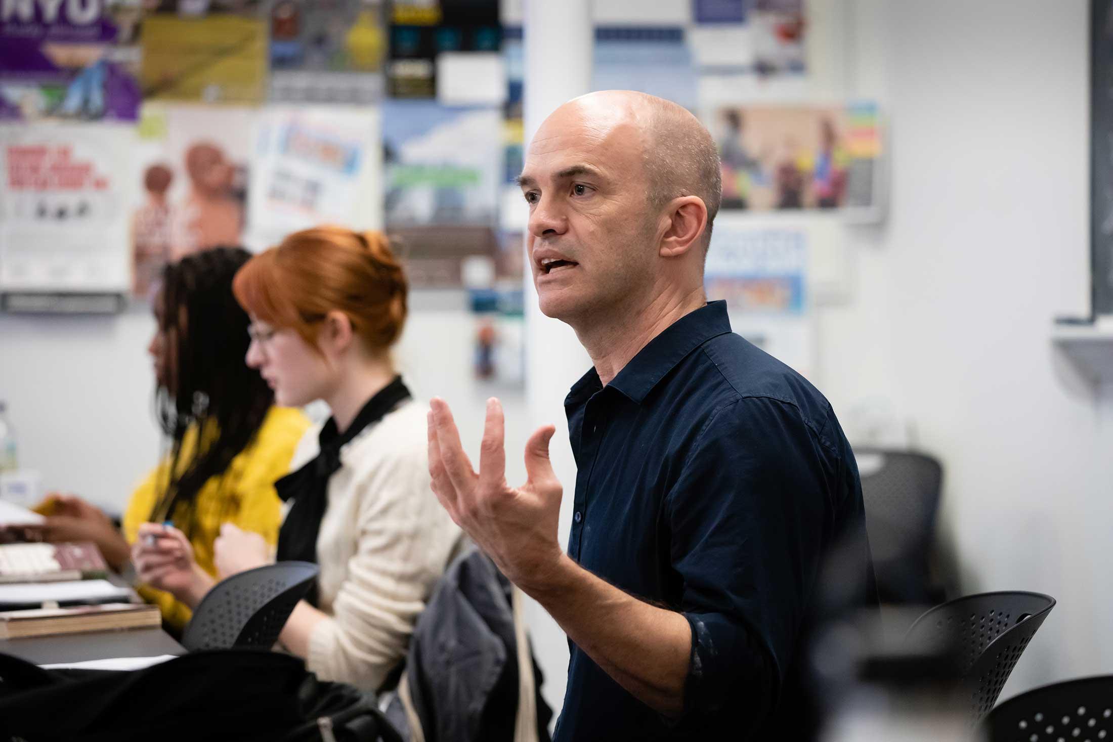 Geoffrey Sanborn teaching The Value of Literature