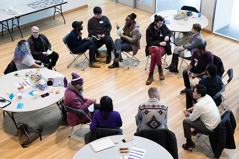 A Next-Gen program on the Amherst College campus
