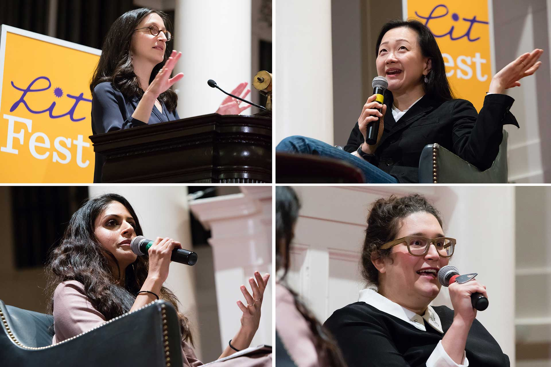 Jen Acker, Min Jin Lee, Parul Sehgal, and Carmen Maria Machado