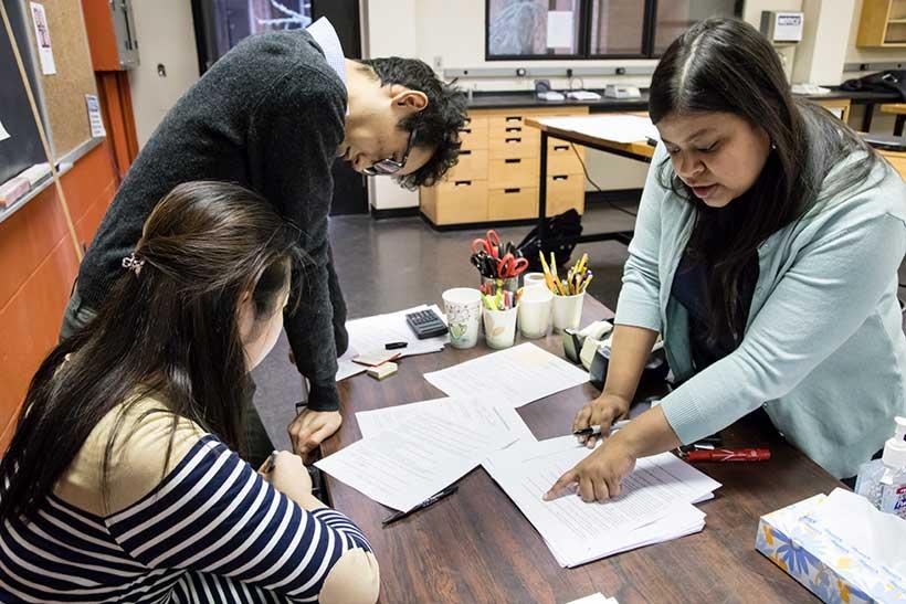 Moumita Dasgupta's research team