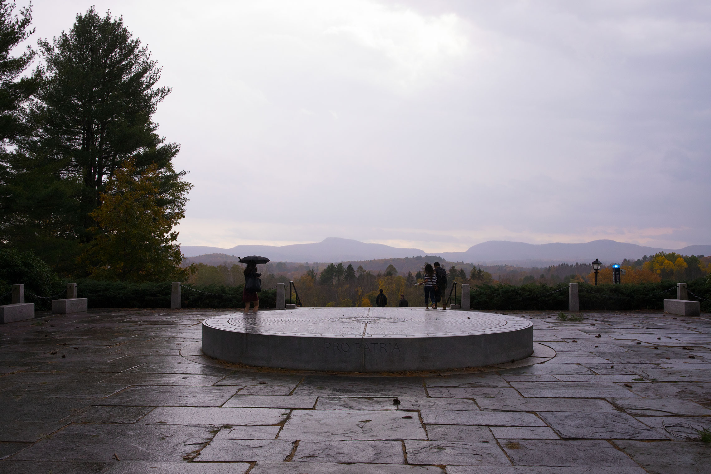 Memorial Hill, Amherst College.