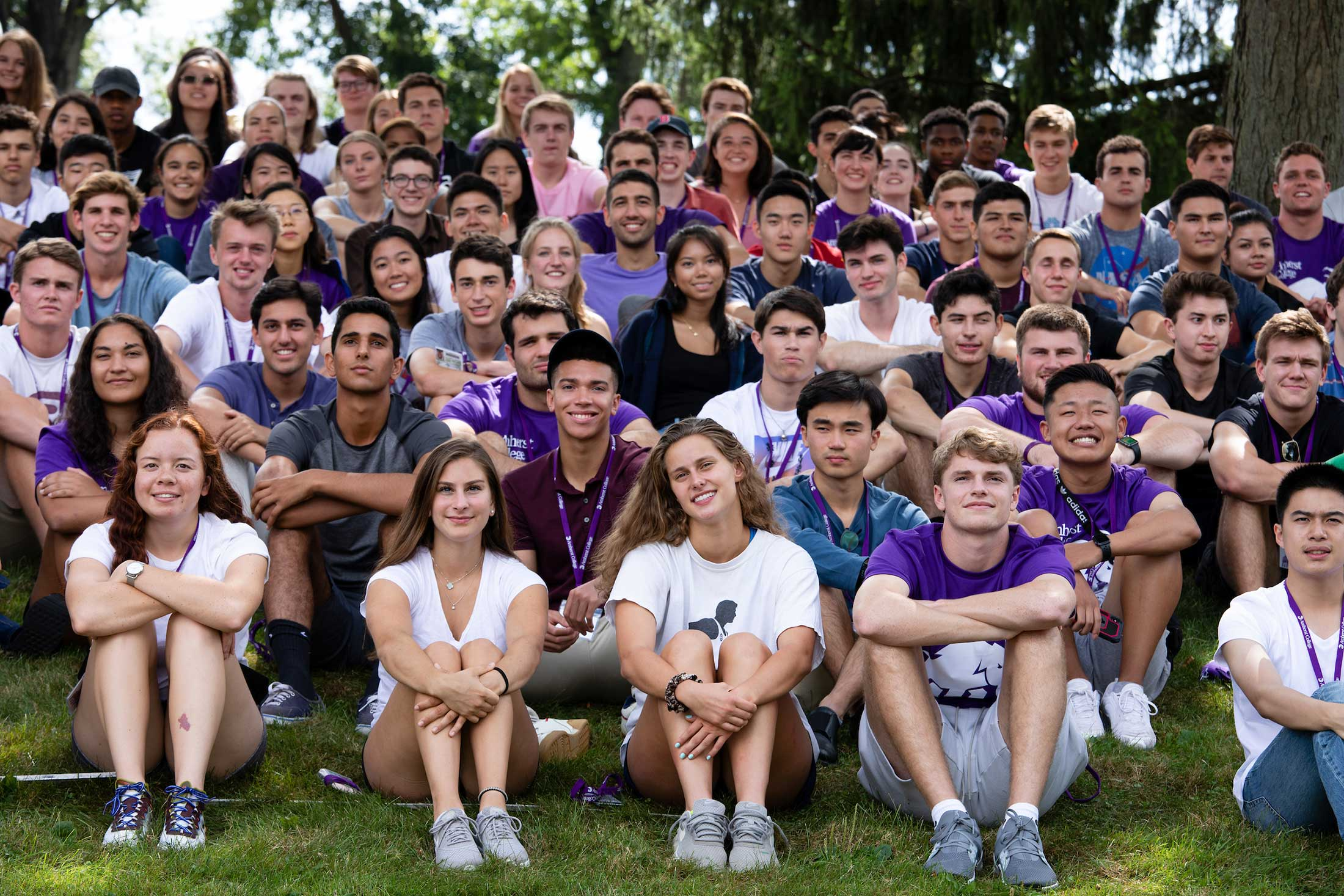 A group shot of the class of 2023