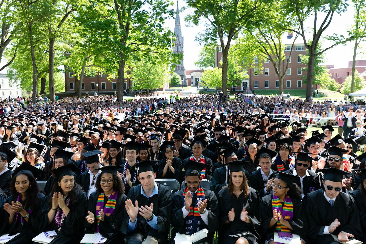 The Class of 109 gathered together for Commencement on Sunday, May 26th