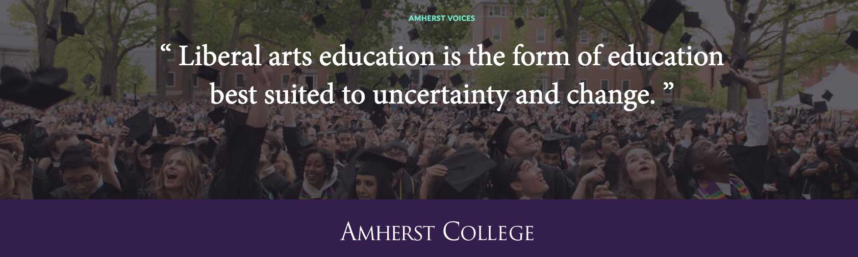 Quote from Biddy Martin's Commencement Address
