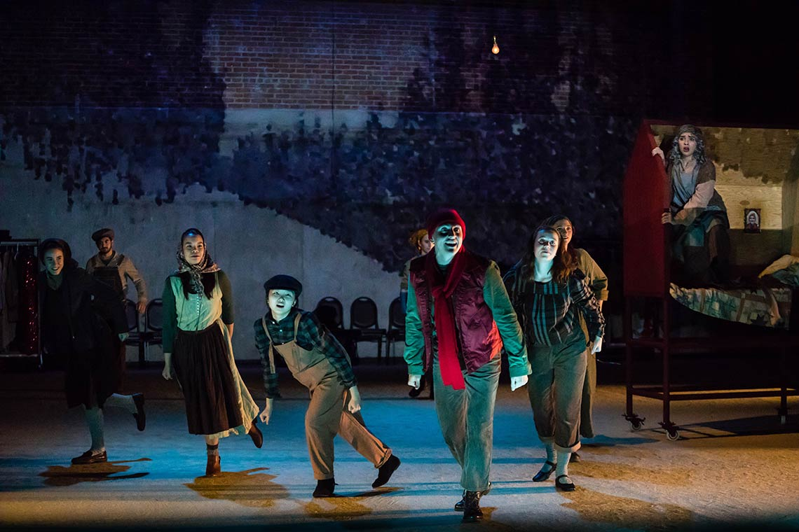 Peer Gynt production at Amherst College