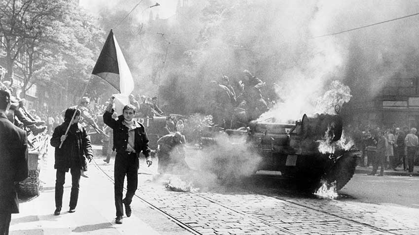 Prague Spring, Soviet Invasion of Czechoslovakia, 1968