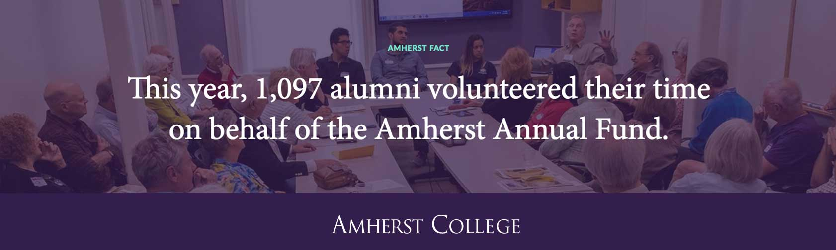 Give to the Amherst Annual Fund