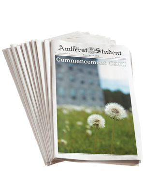 The Amherst Student newspaper