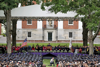 The Commencement stage