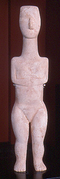 Statue of a human figure