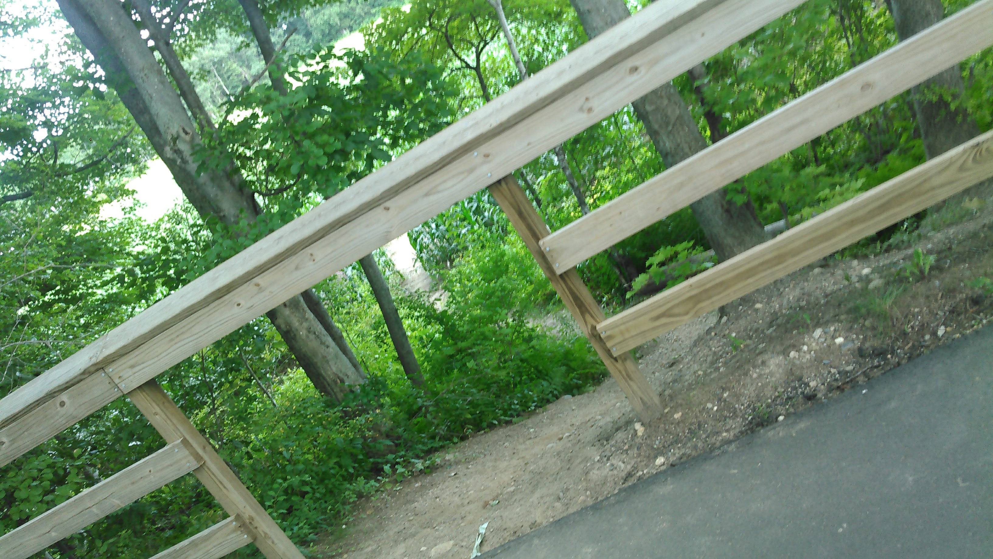 """The 'Off Ramp"""" of the Bike Path"""