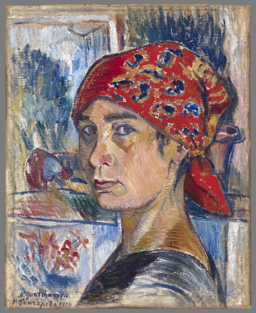 Goncharova Self-Portrait