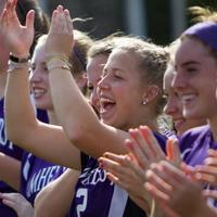 Annika Nygren '16 with teammates
