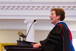 Tekla Harms, Senior Assembly 2014