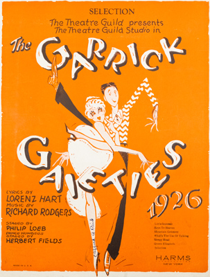 The Garrick Gaities of 1926