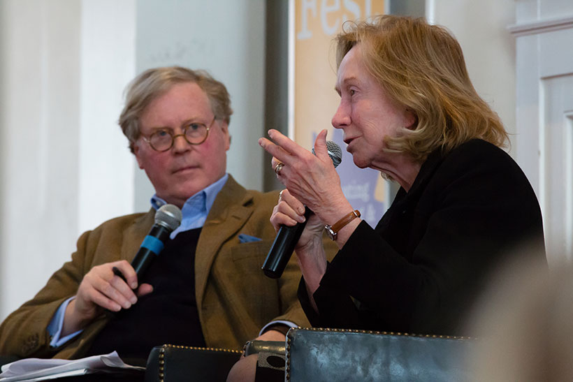 Cullen Murphy and Doris Kearns Goodwin
