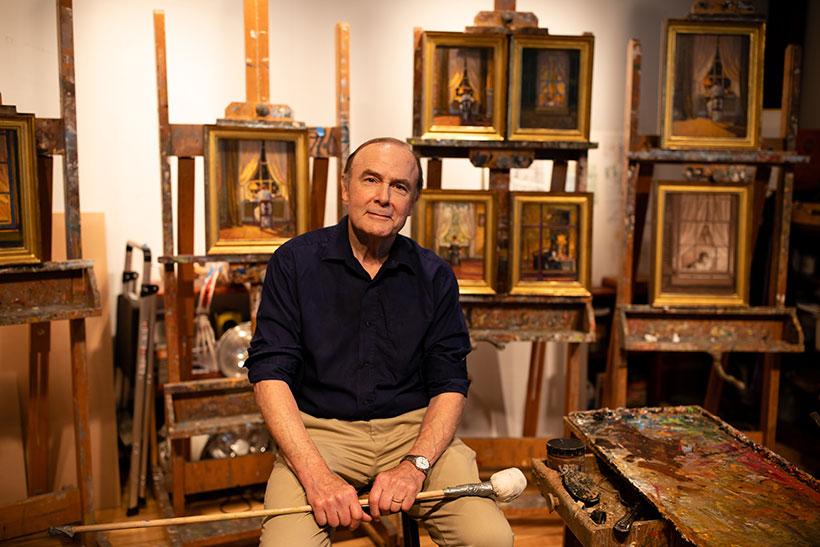 The artist Bob Sweeney
