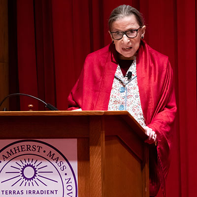 Justice Ginsburg, Up Close