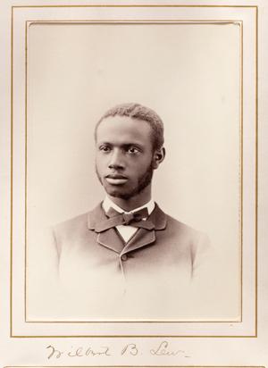 archival portrait photo of Wilber Lew