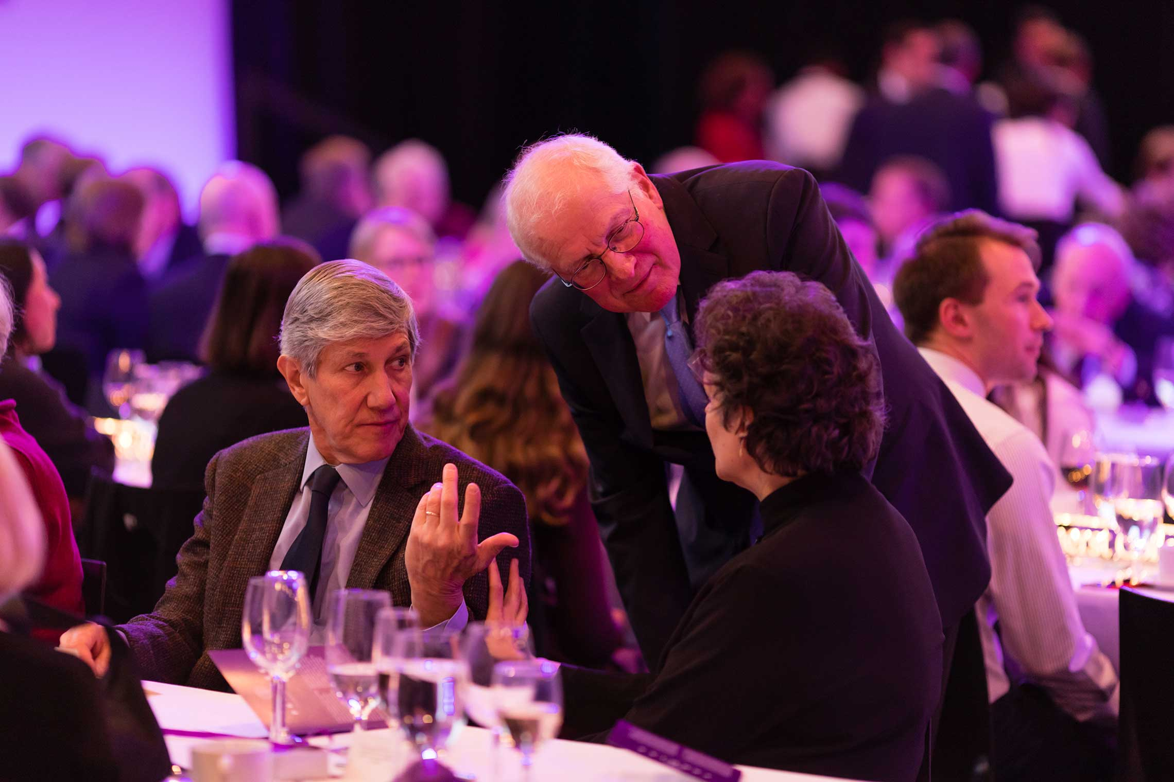 Bill Taubman, Bertrand Snell Professor of Political Science, Emeritus, at the campaign launch dinner