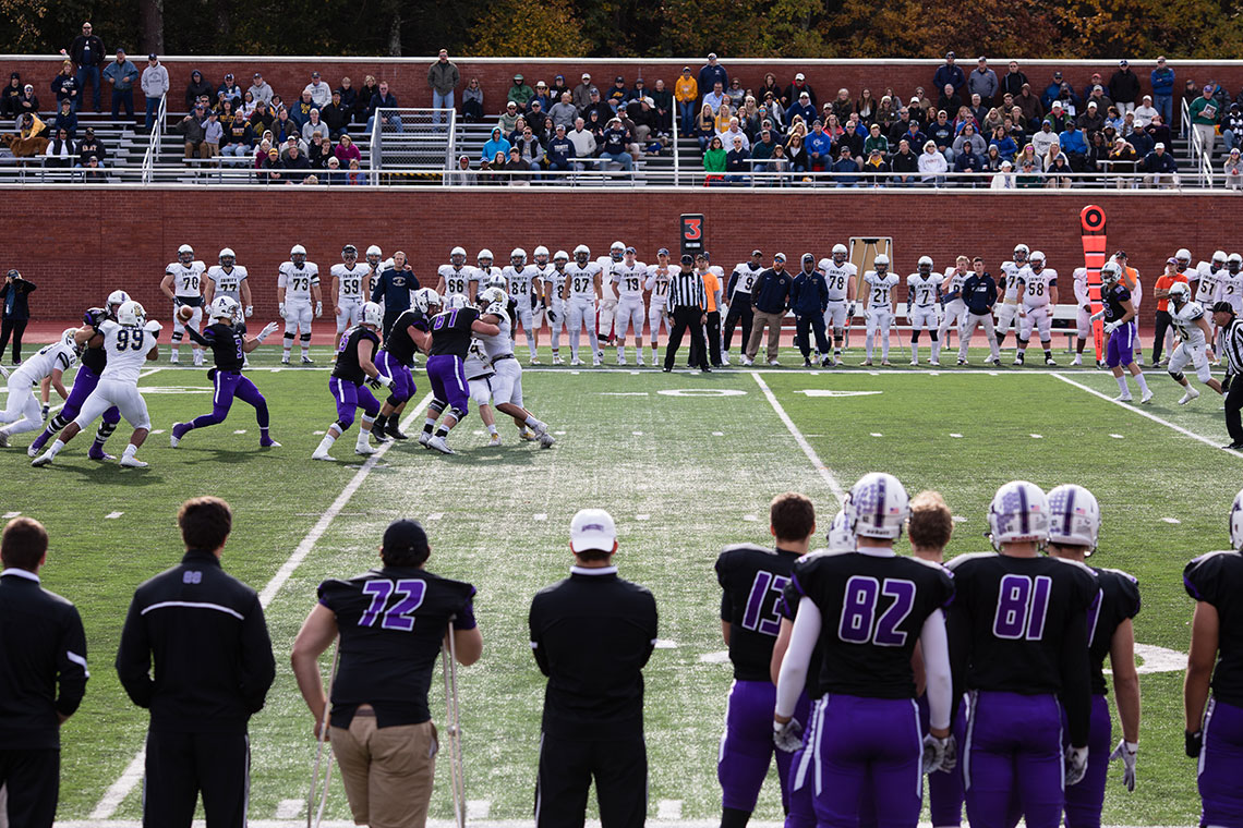 Amherst Football v. Trinity Pratt Field