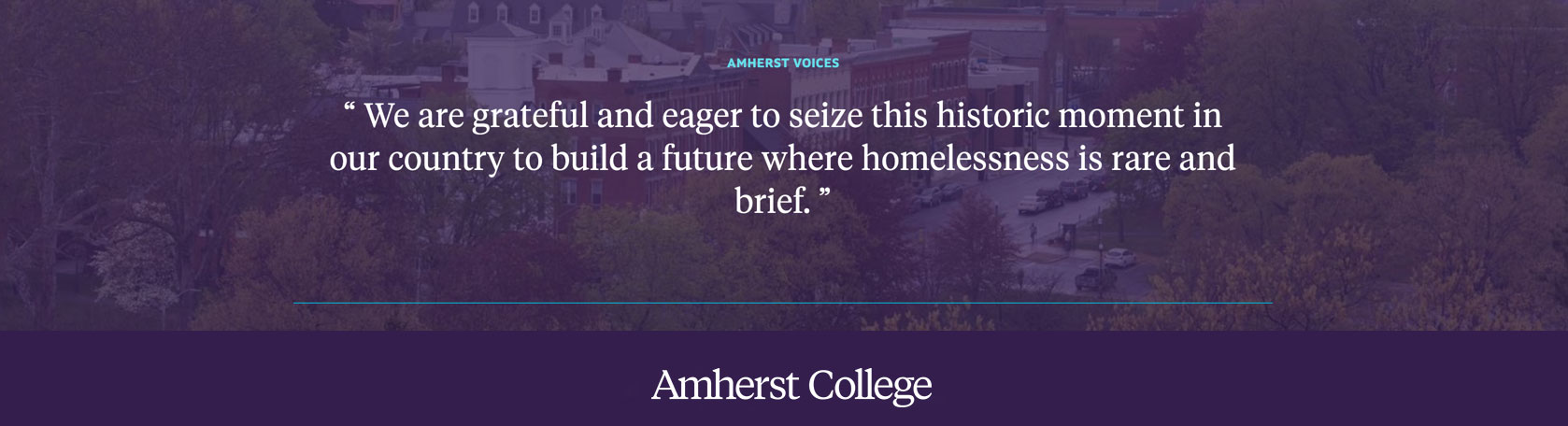 Quote by Rosanne Haggerty about ending homelessness