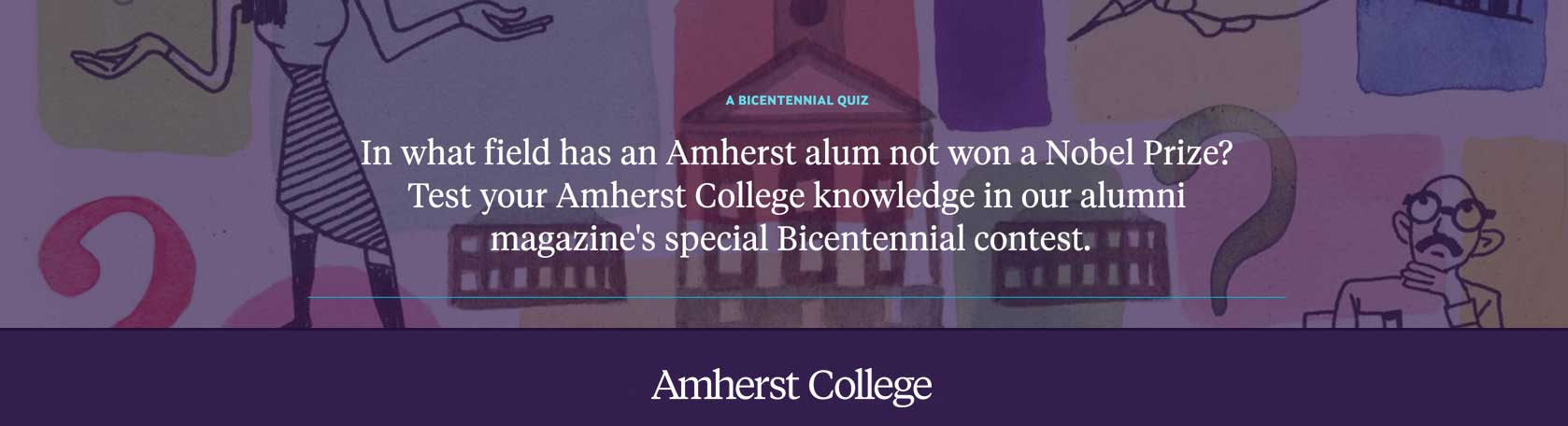 Test Your Amherst College knowledge