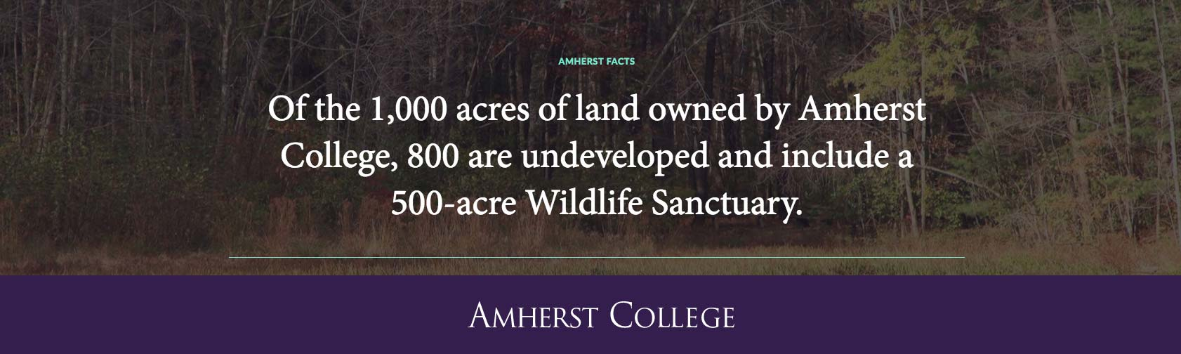 Wildlife Sanctuary Fact