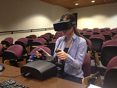 Operating the Oculus Rift