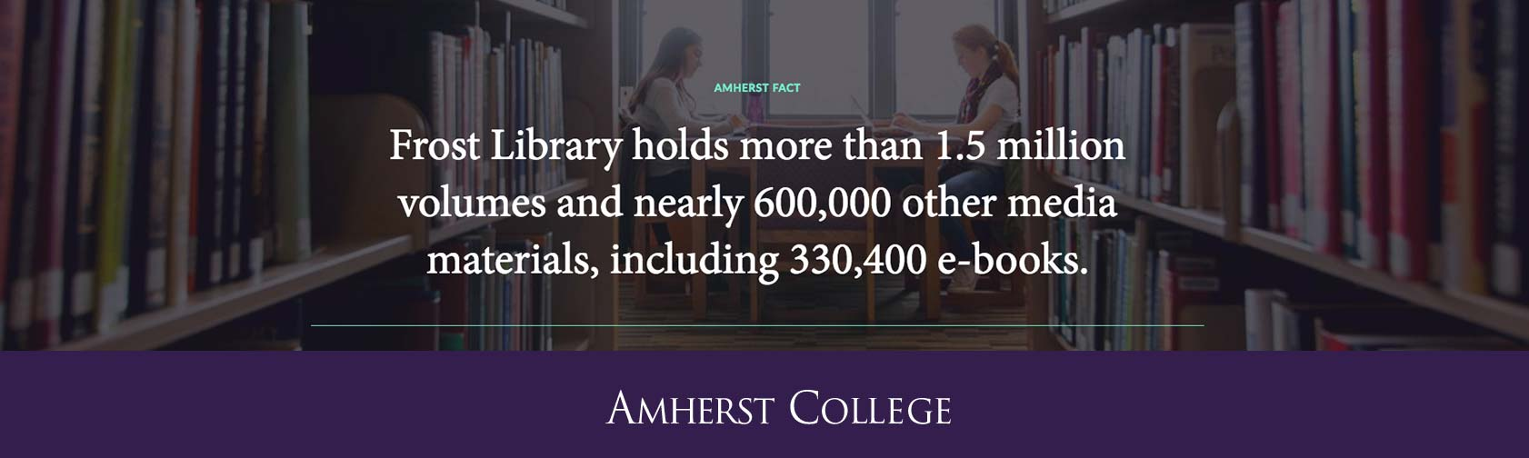 Frost Library Collections Fact