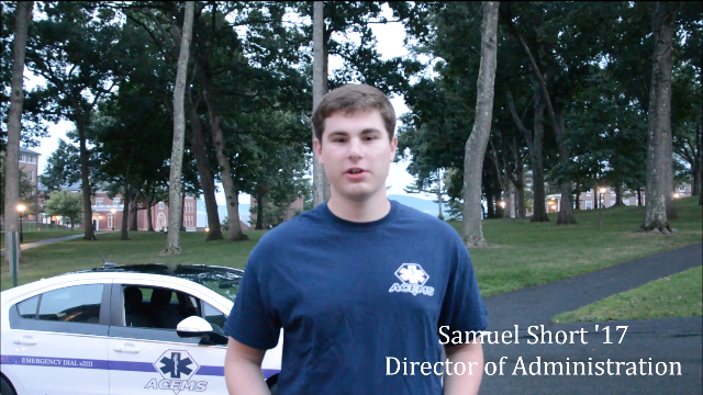 Samuel Short '17, ACEMS Director of Administration