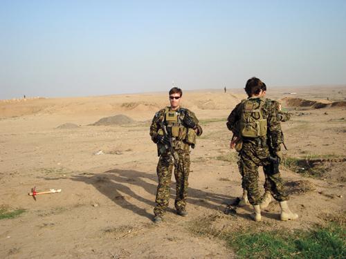 Josh Cole '99 in Iraq