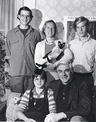 1974 Mudge family photo