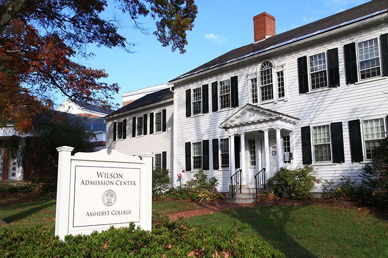 Wilson Admission Center, Amherst College