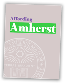 Read our brochure, Affording Amherst (PDF)