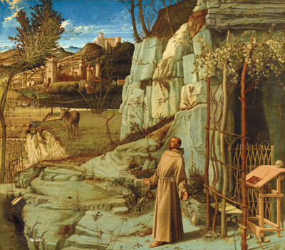 Bellini's St. Francis in the Desert