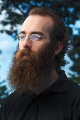 Tim Gaura '15E with year-long beard growth