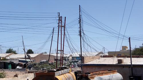 Scene of devastation in Somaliland
