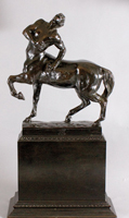 Bronze sculpture of Wounded Centaur