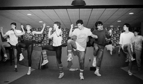 1985 aerobics class