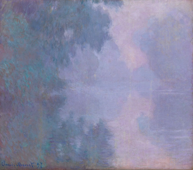 """Morning on the Seine, Giverny"""