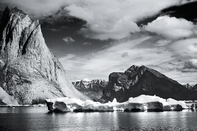 Landscape photo of Greenland