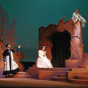 A production of The Tempest