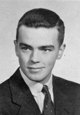 William H. Prichard's 1953 yearbook photo
