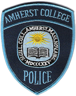 Amherst College Police badge
