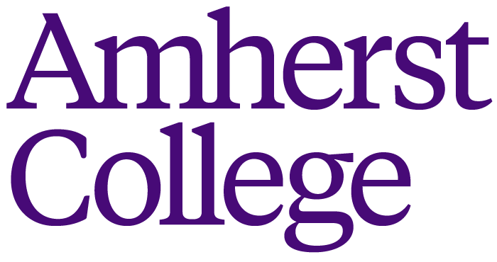 Amherst College wordmark in purple