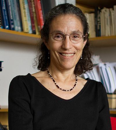 Professor Elizabeth Aries in her office