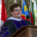 Biddy Martin delivers Commencement Address