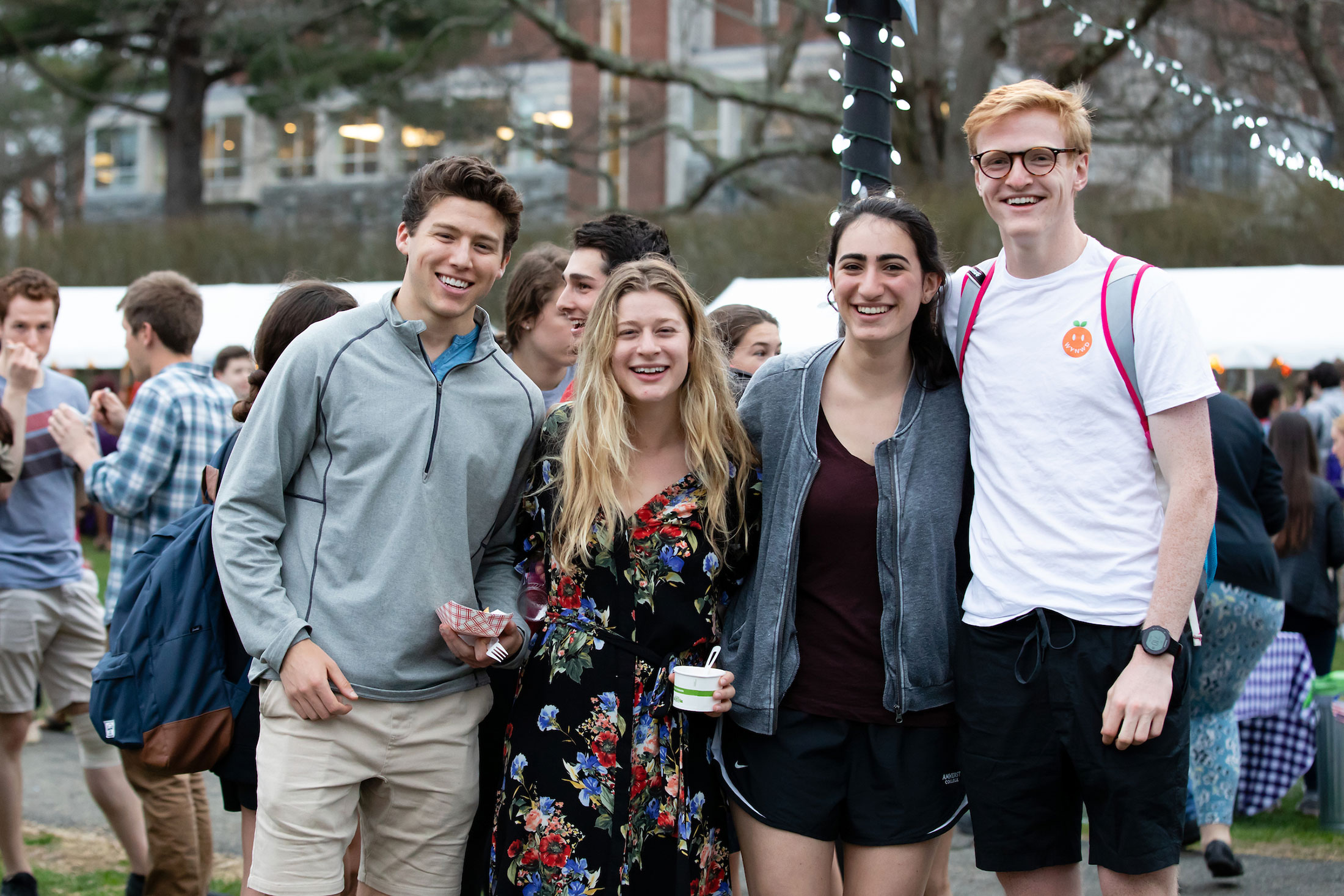 Cosmo Brossy '19, Emery Sorvino '19, Lauren Eisner '19, Billy Massey '21.